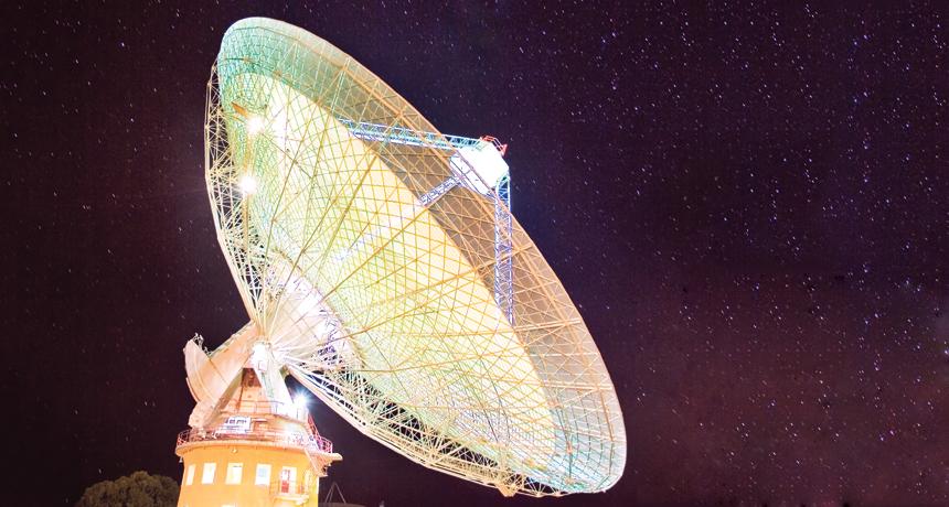 Misteriosi segnali dallo spazio