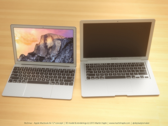 Rendering MacBook Air