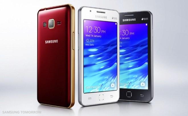 Samsung Z1 con Tizen in uscita: la scheda tecnica