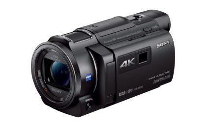 Videocamere Sony Handycam 4K presentate al CES 2015