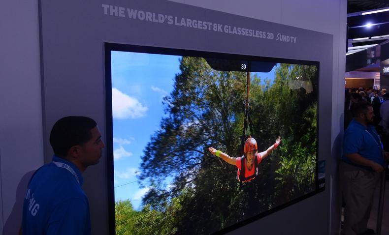 TV Samsung per 3D senza occhiali