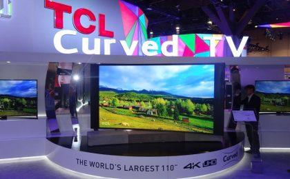 Le TV più folli presentate al CES 2015