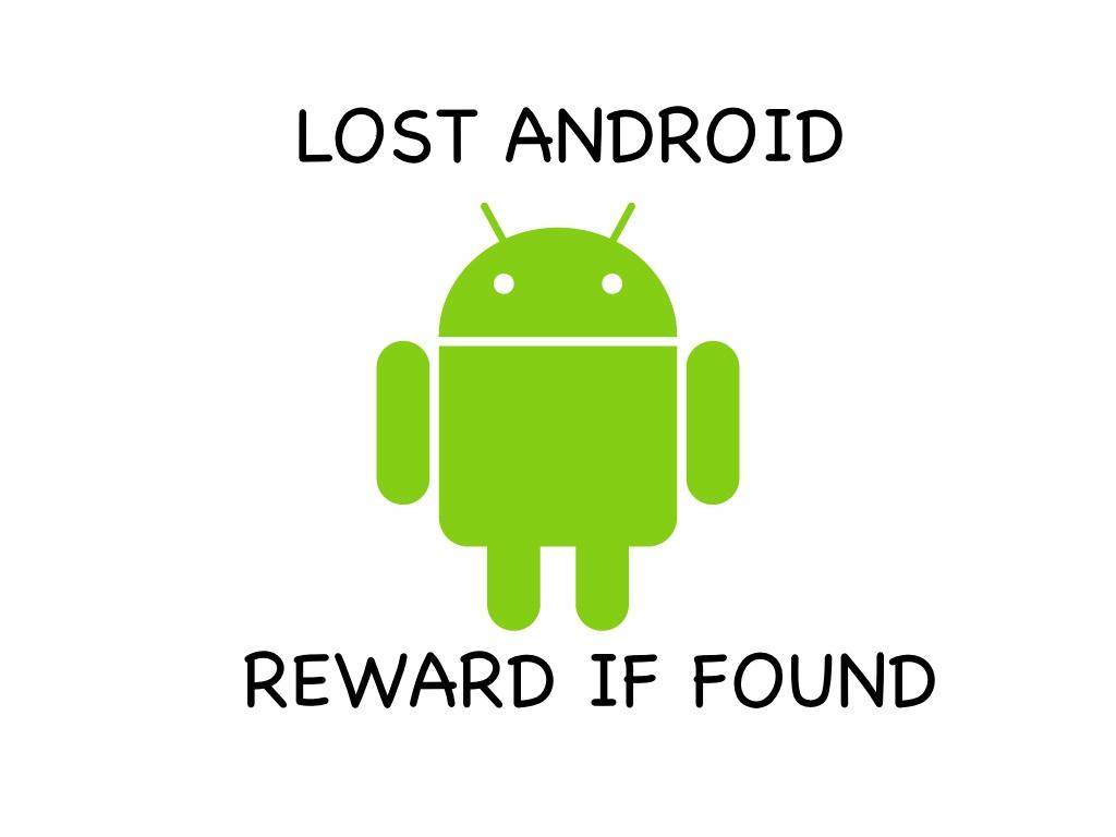Telefono Android perso