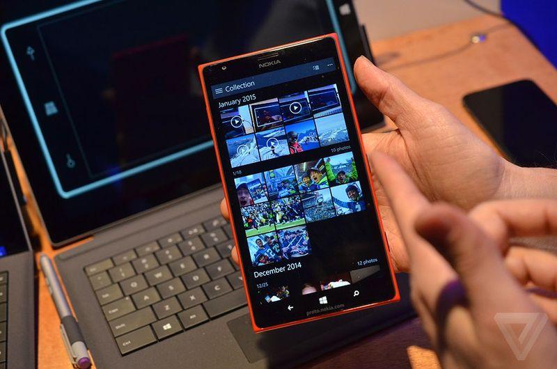 Windows 10 su smartphone