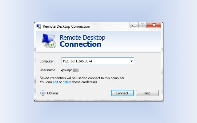 Windows Remote Desktop
