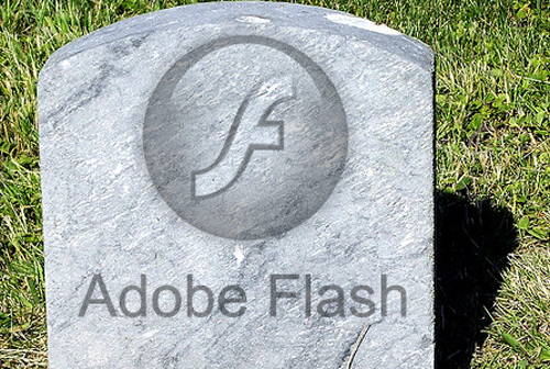 adobe flash morte