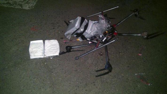 Drone troppo carico di droga si schianta in Messico