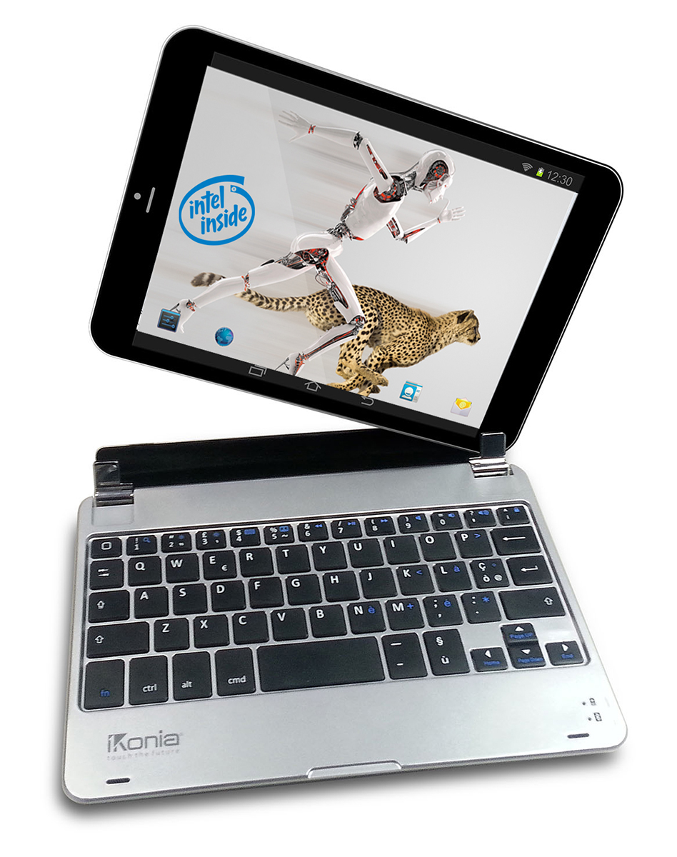 iKonia Jarvis 8.0i, tablet ibrido Windows 8.1 con tastiera