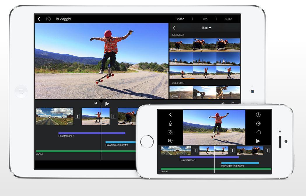 iMovie composizione video
