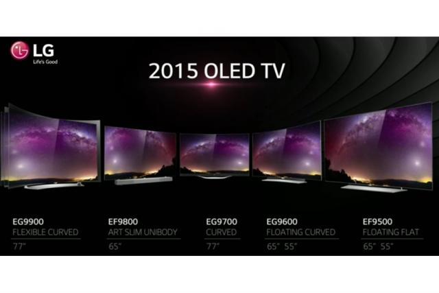 LG TV OLED, le novità del CES 2015