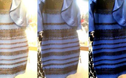 Di che colore è il vestito? Il noioso tormentone social