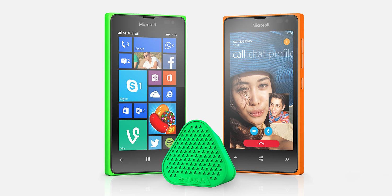 Lumia 435 colori
