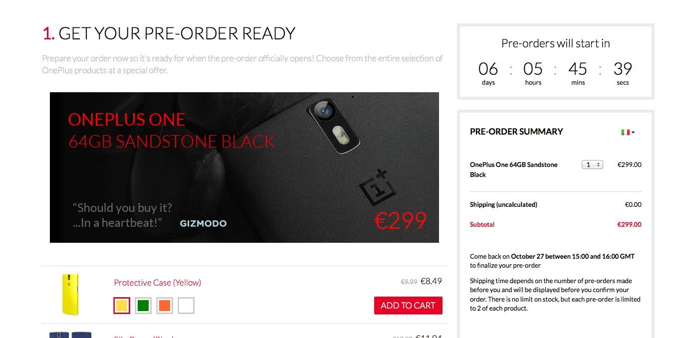 OnePlus One senza invito