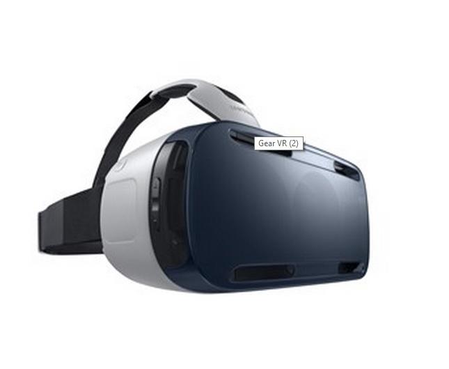 Samsung Gear VR schermo