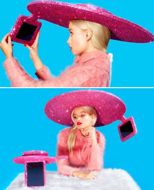 Selfie cappello