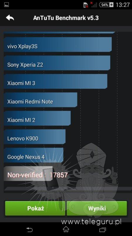 Sony Xperia E4 display
