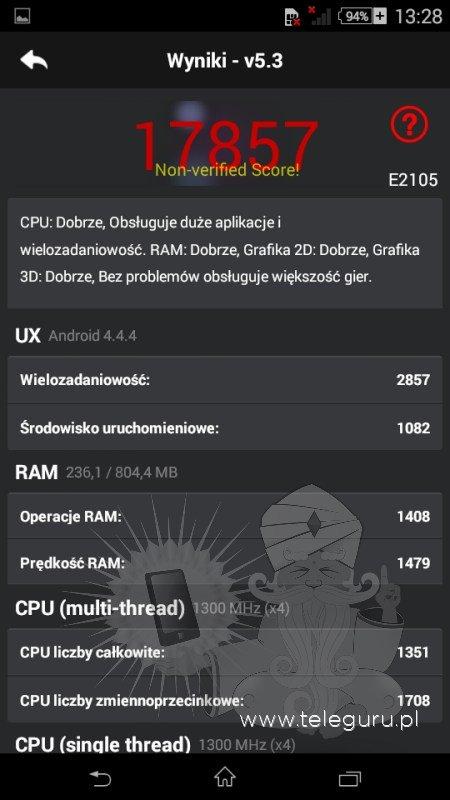 Sony Xperia E4 specifiche tecniche