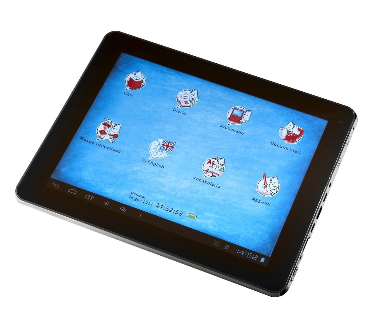 EdiTouch High School: il primo tablet contro la dislessia