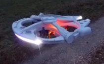 Drone Millenium Falcon: per veri appassionati di Star Wars