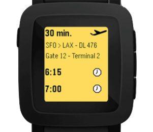 Pebble smartwatch con display a colori in arrivo