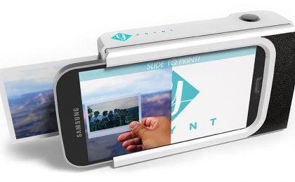 La custodia che trasforma lo smartphone in una Polaroid, Prynt