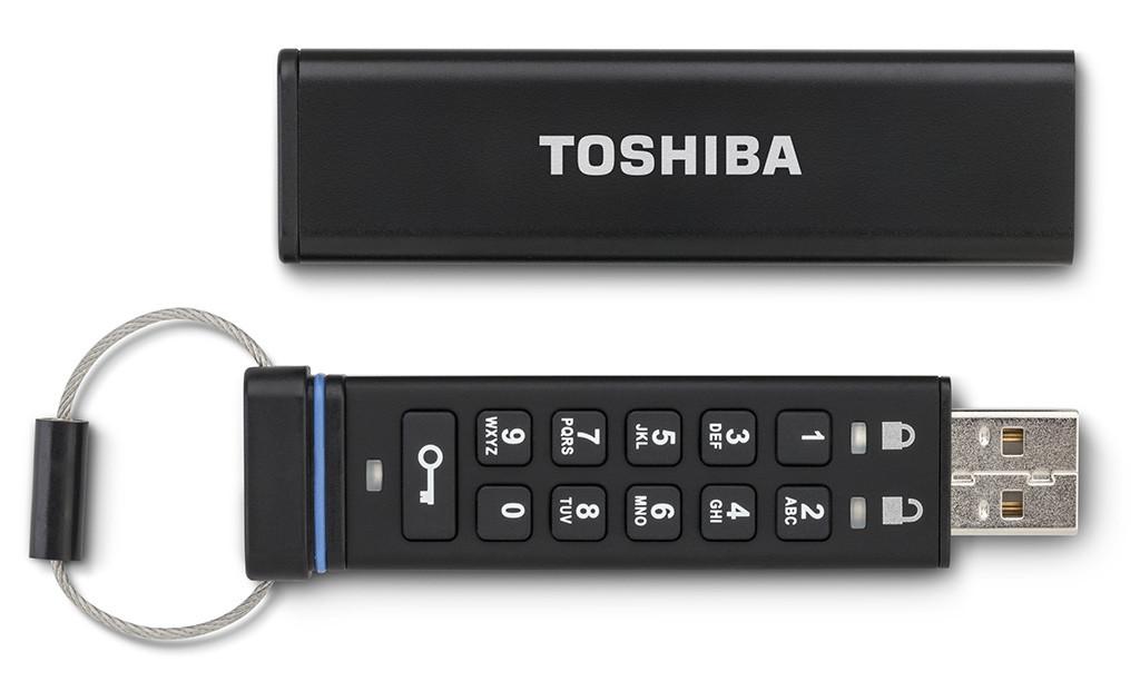 La chiavetta USB più sicura, da Toshiba
