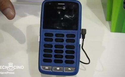 Doro 820 Claria è il nuovo smartphone per non vedenti