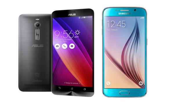 Asus Zenfone 2 vs Galaxy S6