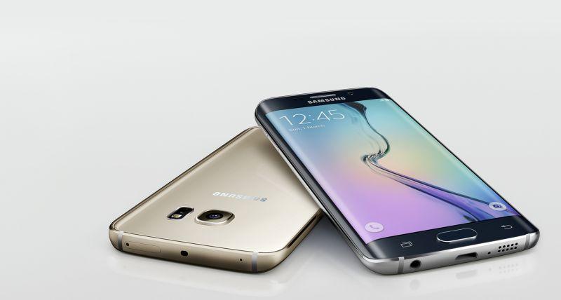 Galaxy S6 Edge schermo curvo