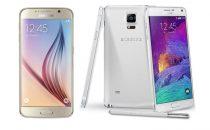 Samsung Galaxy S6 vs Galaxy Note 4: confronto in famiglia