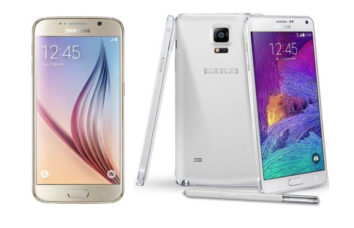 Galaxy S6 vs Galaxy Note 4