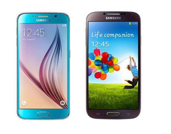Galaxy S6 vs Galaxy S4