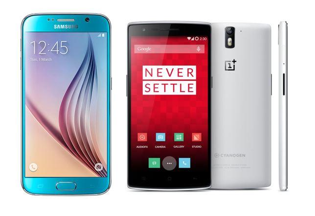 Galaxy S6 vs OnePlus One