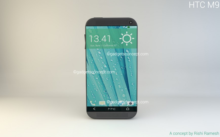 HTC One M9 possibile design