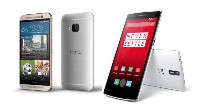 HTC One M9 vs OnePlus One