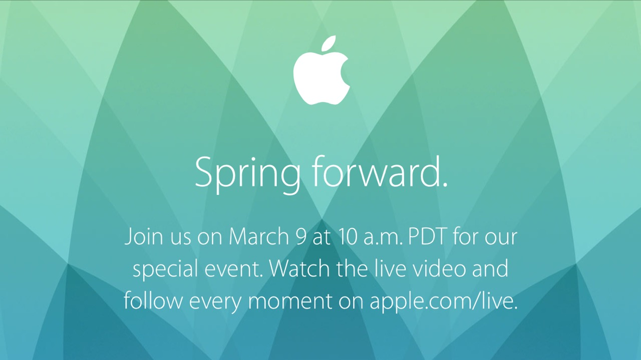 Presentazione Apple 9 marzo 2015: il keynote in LIVE streaming