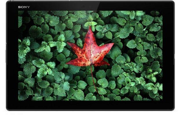 Lo schermo del Xperia Z4 Tablet