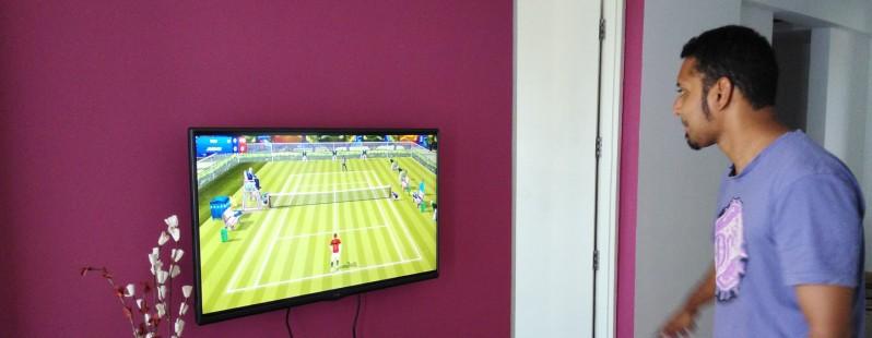 Trasforma lo smartphone in una racchetta da tennis