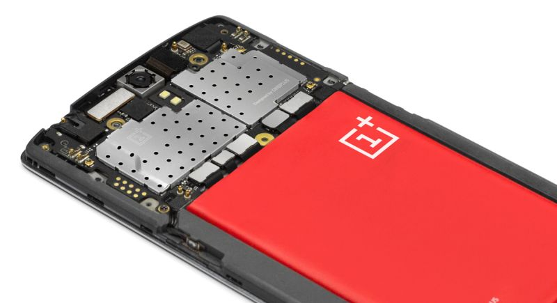 OnePlus One batteria