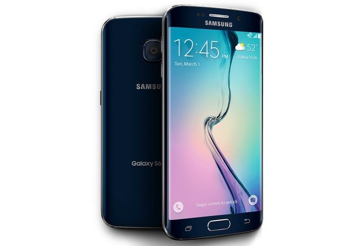 Samsung Galaxy S6 Edge fronte e retro