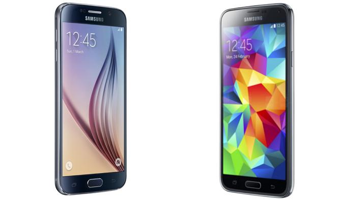 Samsung Galaxy S6 vs S5