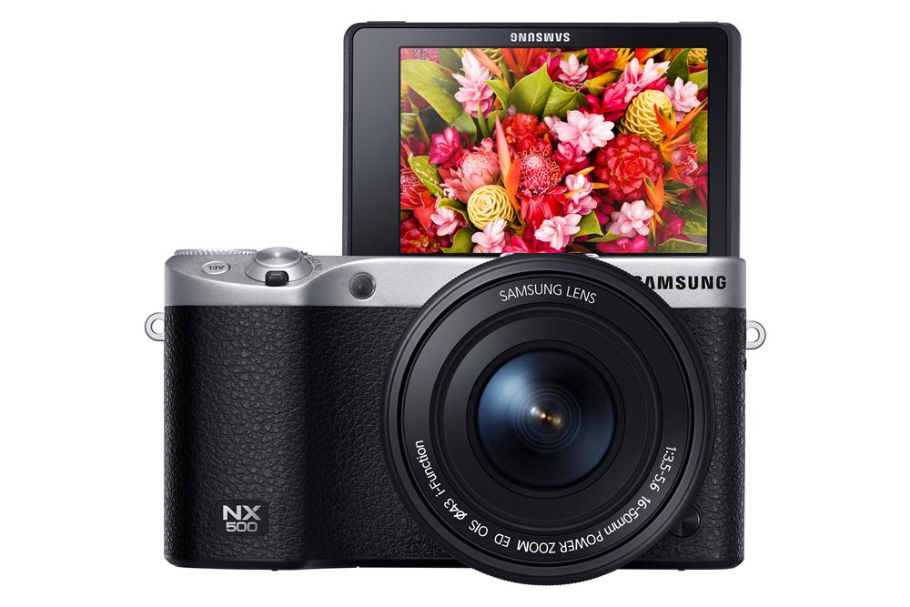 Samsung NX500: scheda e prezzo della fotocamera