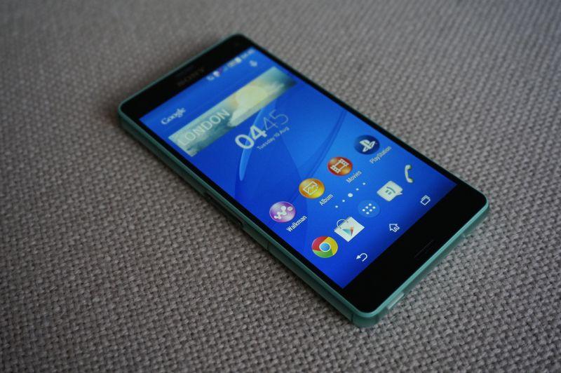 Sony Xperia Z3 schermo