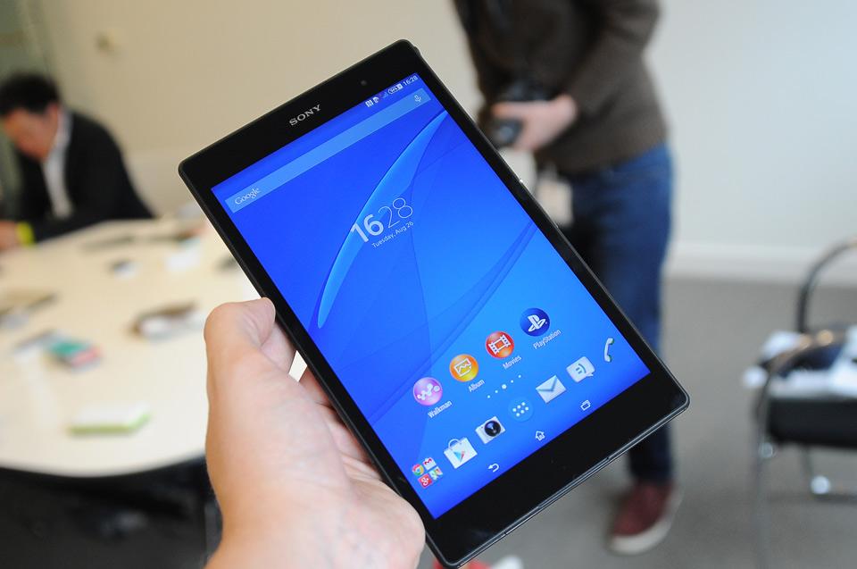 Xperia Z3 Tablet Compact schermo