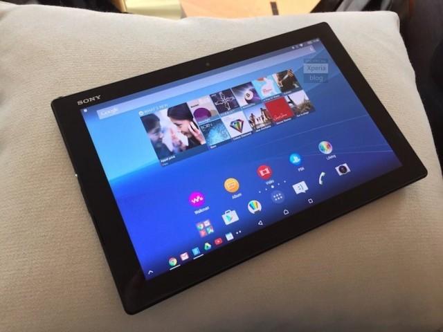 Sony Xperia Z4 Tablet: scheda tecnica e uscita ufficiali