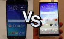 Samsung Galaxy S6 vs HTC One M9: sfida al benchmark