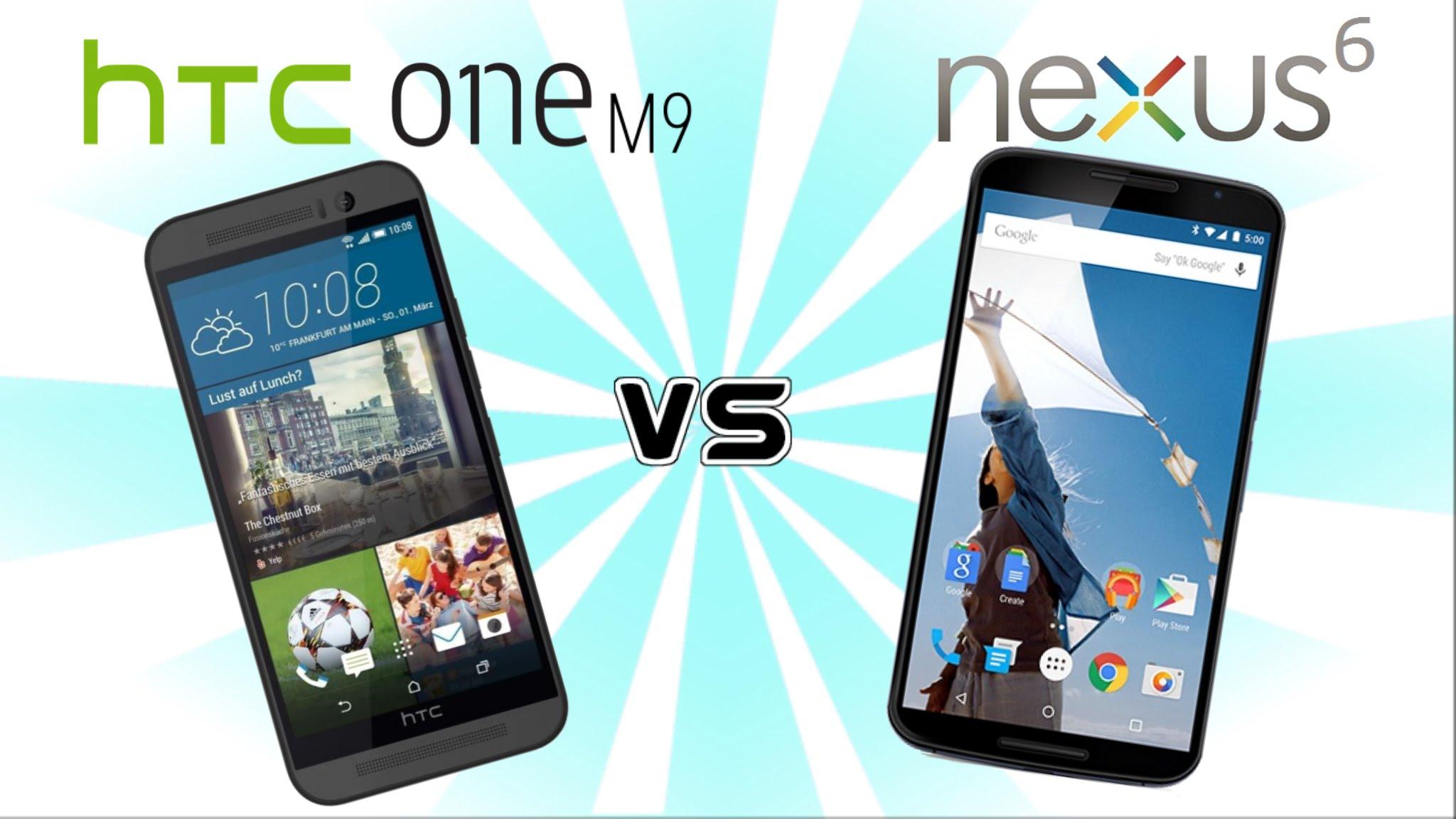 htc one m9 vs nexus 6