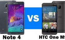 HTC One M9 vs Samsung Galaxy Note 4: il confronto duello