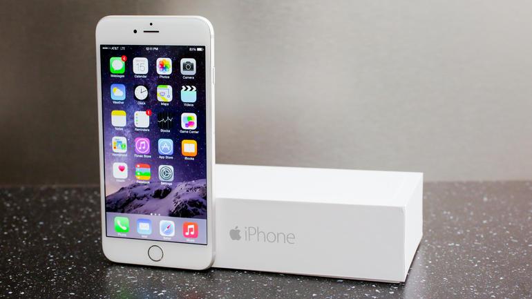 iPhone 6 Plus iOS 8