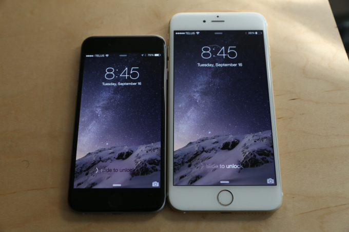 iPhone 6 Plus iOS 8